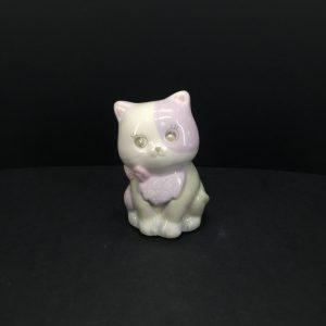 Gattino porcellana dipinto