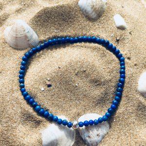 Bracciale perle lapis