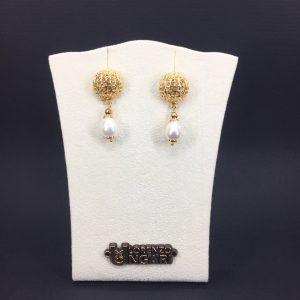 Orecchini pendenti in bronzo