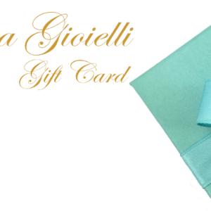Gift Card Sabrina Gioielli