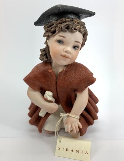 Rita laureata Statuetta in Porcellana