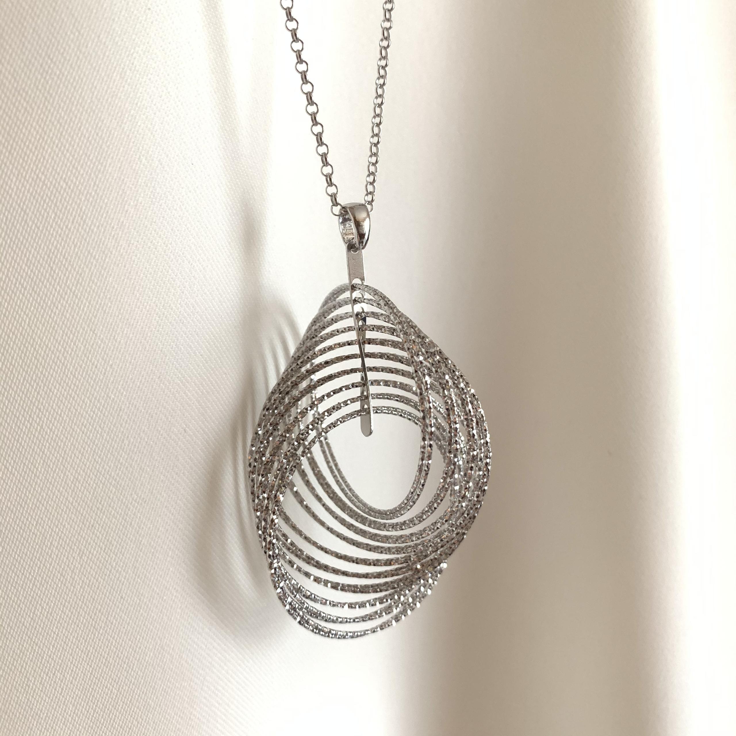 Collana in argento Fraboso