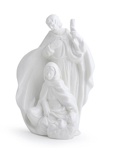 Sacra Famiglia Porcellana